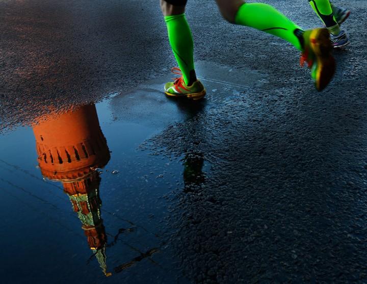 Moscow Marathon 2014.