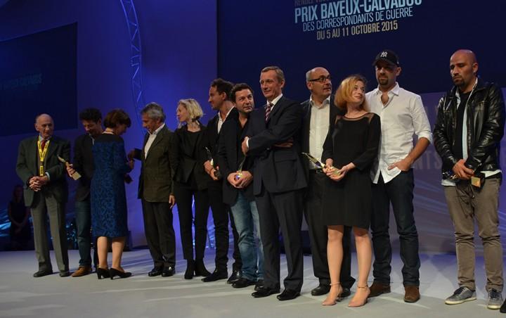 21ème édition du Prix Bayeux Calvados des correspondants de guerre.