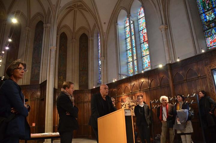 Vernissage Discordia à Bayeux