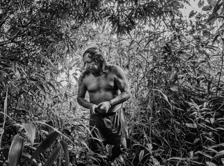 Camopi, mars 2015 – Photographie © Christophe Gin pour la Fondation Carmignac