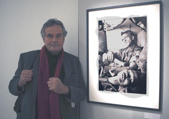 Bruno Barbey à la MEP 2015Photographie ©Philippe Charliat