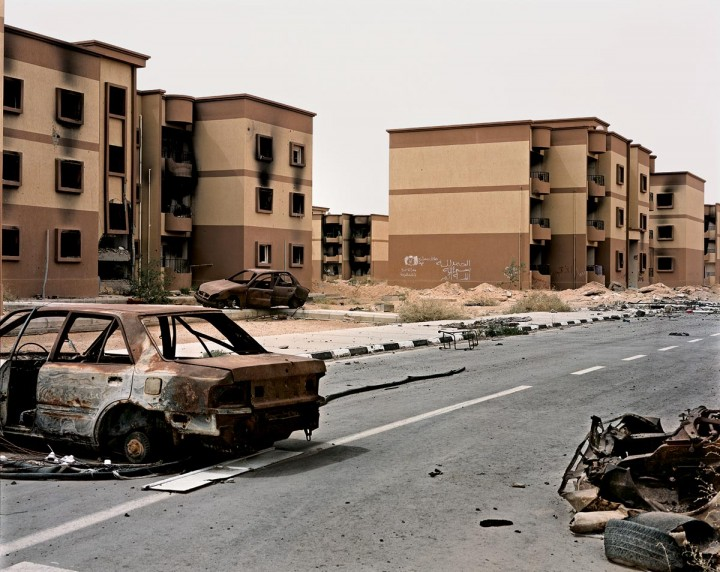 Siège de Misrata (25 février - 15 mai 2011)Photographie ©Yan Morvan