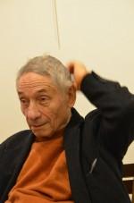 Mario Dondero à la Librairie italienne à ParisPhotographie ©Geneviève Delalot
