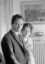 Pier Paolo Pasolini avec sa mère. début années 1960 Photographie ©Mario Dondero