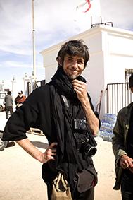 Libye, 12 mars 2011 Portrait de David Sauveur Copyright : Kosuke Okahara