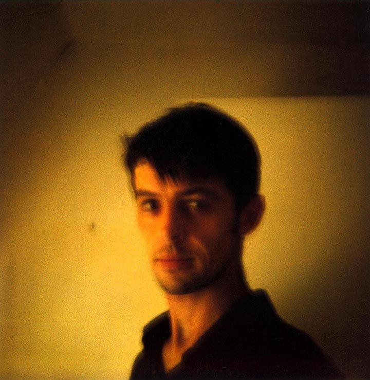 Autoportrait polaroid de David Sauveur